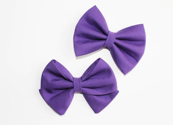 Grape Purple Bow