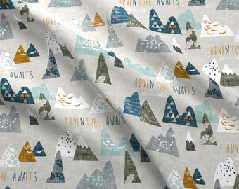 Personalized Baby Blanket- Personalized Mountain Baby Blanket with Name-Minky Baby Blanket-Woodland Baby Blanket-Monogram Baby Blanket boy