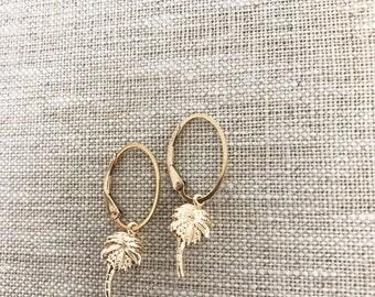 Taylor PALM earrings