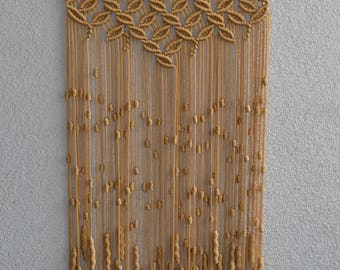 Macrame Wall Hanging gold