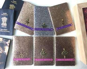 Bling edition Passport Covers - Set of 8