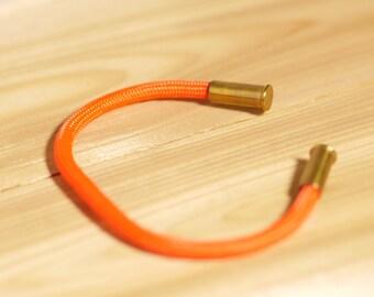 22 cal Adjustable Copper Core Paracord Bracelet, Multiple Colors