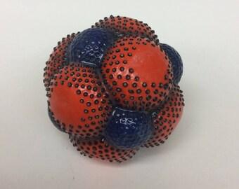 Carved ceramic sphere, ceramic sphere, ceramic orb, clay sphere, clay ball, ceramic ball, decorative sphere, ceramics, decorative ceramics