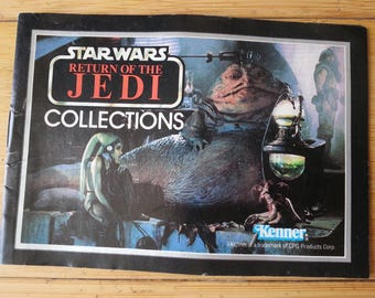 Star Wars Return of the Jedi Collections Action Figure Ad Booklet - 1983