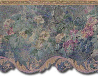 Floral Wallpaper Border 62744DC