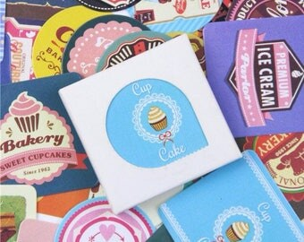 38 sweet kawaii stickers