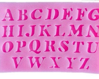 stsmpo silicone alphabet letters
