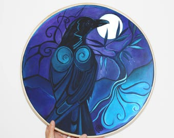 Shamanic Drum - Raven Magic