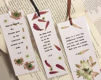 Poetry bookmark