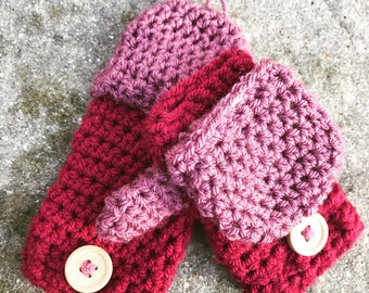 Toddler mittens (that actually fit)!