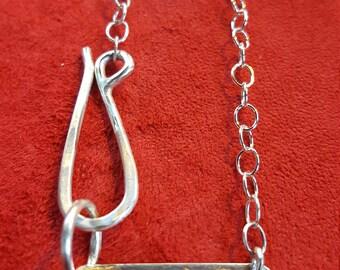Gun dog tag necklace