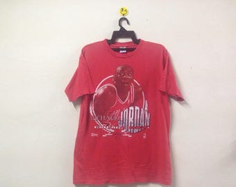 Vintage 1991 Michael Jordan T-shirt Basketball Chicago NBA