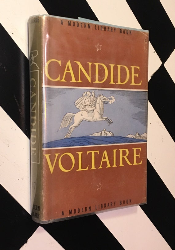 Candide by Voltaire; Introduction by Philip Littell (hardcover) Modern Library book