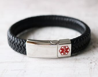 Medical ID Bracelet - Waterproof Medical Alert Bracelet