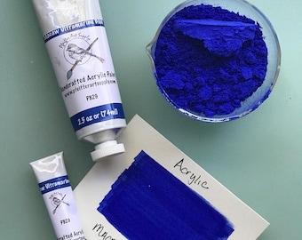 Acrylic Paint Matte Macaw Ultramarine