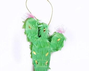 Cactus Piñata, Petite Piñata, Cactus Party Decor, Cactus Decor, Cactus Decorations, Fiesta Decor, Fiesta Party, Cactus, Fiesta Tableware