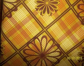 Plaids and Argyles 100% Cotton Fabric #57