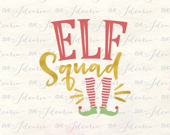 Elf squad svg, elf svg, svg elf squad, svg elf, elf cut files, svg files elf, elf legs svg, christmas svg, christmas elf svg, elf squad dxf