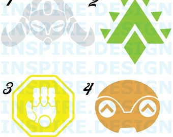 Orisa Decals