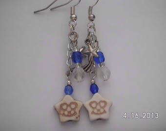 Shooting star earrings.
