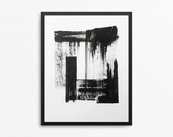 Original Abstract Painting, Abstract Art, 8x10 Painting, Black and White Art, Black and White Painting, 8x10 Art, Original Art, Acrylic Art