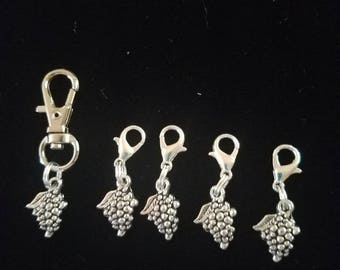 Crochet Stitch Markers Small Grapes