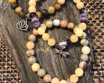 Healing Amplified with Calcite Charm Bracelets, 3 Styles Available