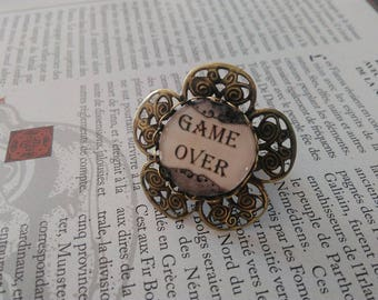 Ring Geek Game Over baroque