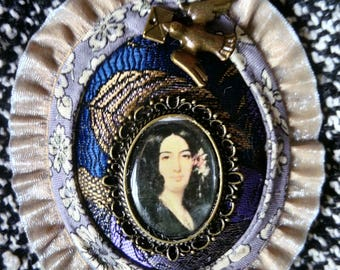 Brooch, George Sand's collection, model Lélia