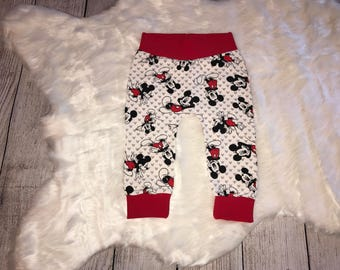 Baby Boy Pants | Mickey Mouse Print