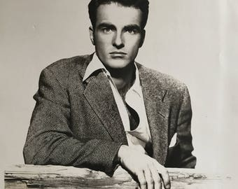 Monty Clift, Monty Vintage Hollywood Celebrity Photograph B