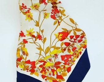 La Flora vintage scarf