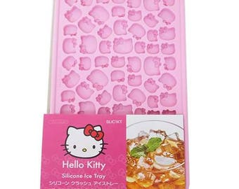 Hello Kitty Silicone Mold - Thin Moud for Ice Cube