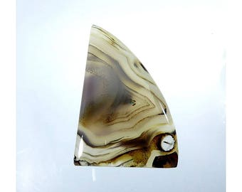 43Cts Montana Agate Cabochon Gemstone Fancy Shape Gorgeous Montana Agate Top Quality For Jewelry Making 47X28X5mm