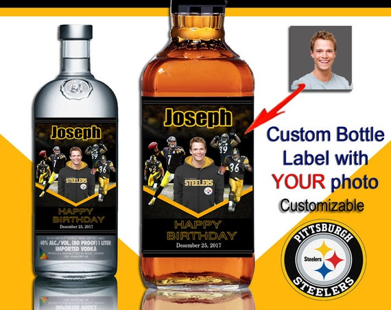 Custom steelers fan gift ideas . Unique steelers gifts.