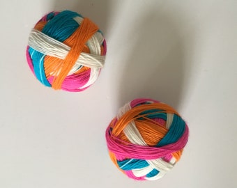 OOPS! Sock yarn: 'You make my dreams come true'  (4 colours, self striping)