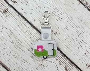 Summer Sale Camper Keychain/Zipper Pull