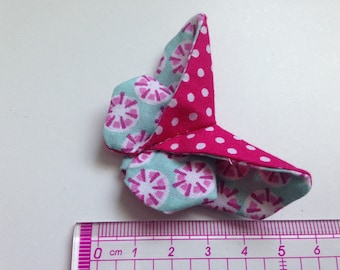 Butterfly origami polka dots and geometry