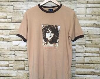 Jim Morrison The Doors Music Company T Shirts Ringer Copyright 2004 Band The Door Rock