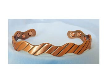 Copper Magnetic Therapy Bracelet Cuff