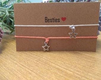Besties bracelets