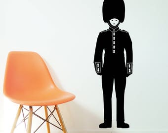 QUEENS GUARD Wall Sticker, Removable Decal, Made In Australia