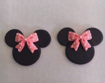 100 Mouse Cupcake Toppers