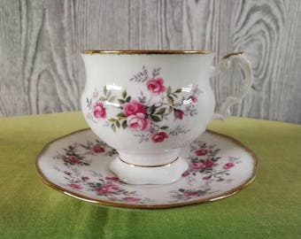 Queen's Cup and saucer Fine Bone China