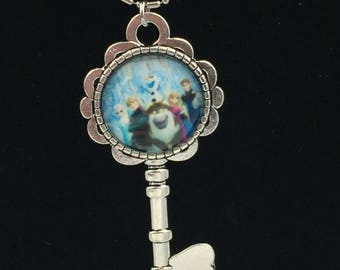 Disney Frozen Key Necklace