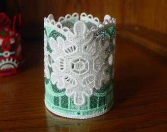 Snowflake Tea light holder