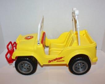 Barbie Baywatch Rescue Wheels Jeep 1995 Mattel