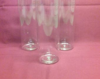 8oz Clear Bullet Bottle - 12 each