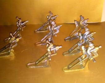 Vintage Medical Dental Clamps Foster Brass Articulator's Halloween,Lab,Science Decor ***** 1930's-1940's******