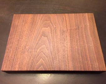 Walnut slab cutting board